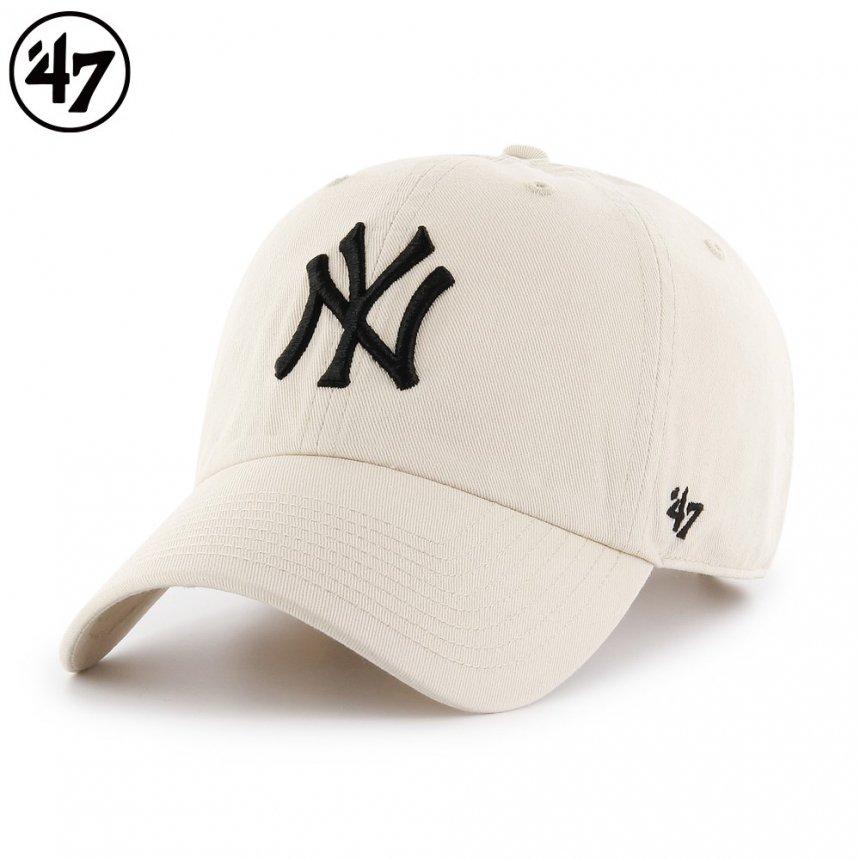 ヤンキース キャップ '47 クリーンナップ ナチュラル