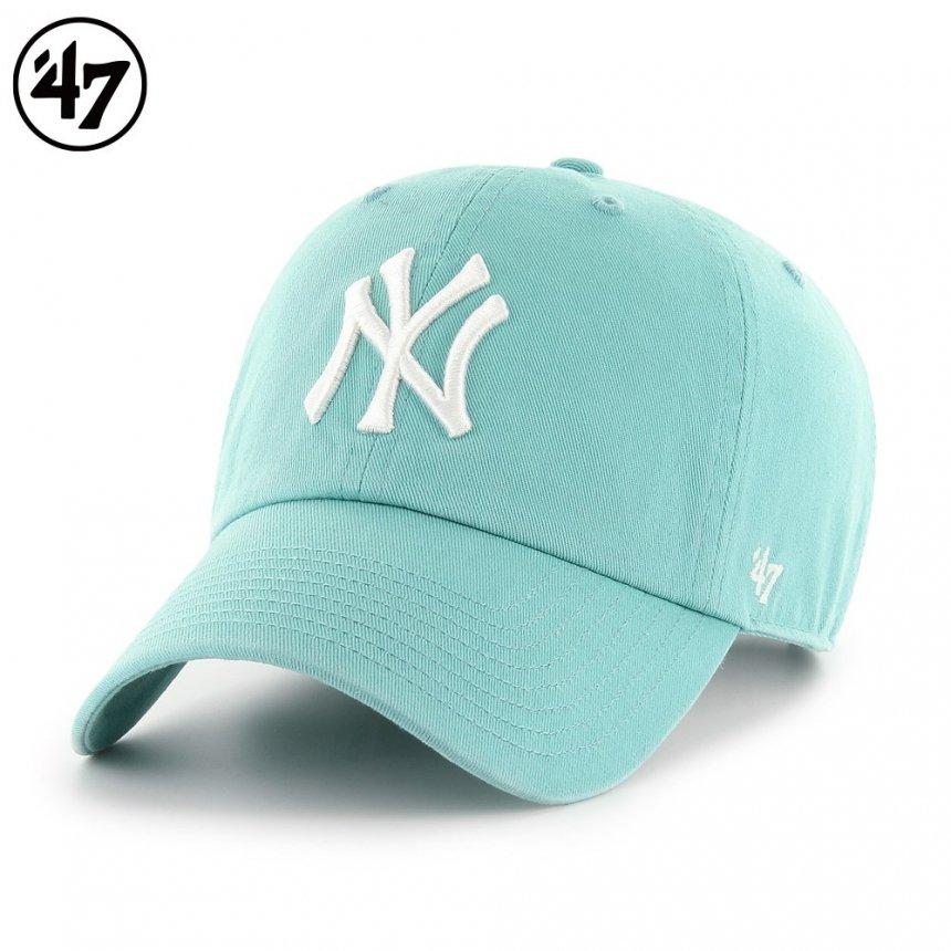 ヤンキース キャップ '47 クリーンナップ ラグーンブルー