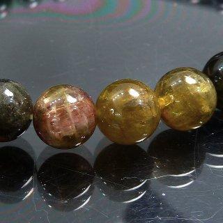 天然石 マルチカラートルマリン 7.5-8mm ブレスレット � mto8_01