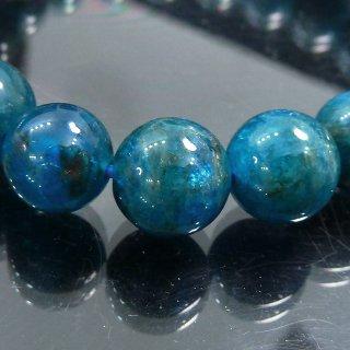 天然石 ブルーアパタイト 9mm ブレスレット apa09001b
