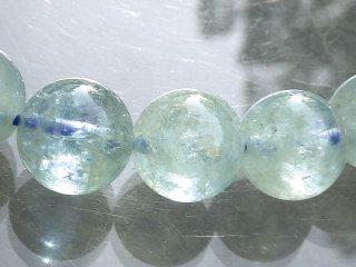 天然石 アクアマリン 9mm ブレスレット aqu09001