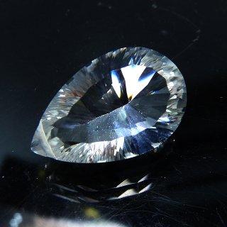 【1粒売り】 クリスタル 水晶 コンケーブカット (L) 16x10x8mm qua_con_L_0