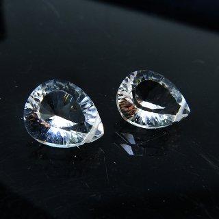 【1粒売り】 クリスタル 水晶 コンケーブカット (M) 10x8x5mm qua_con_M_0