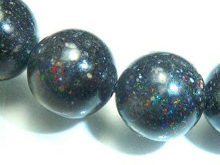天然石 ブラックオパール 6mm ブレスレット opa06002b