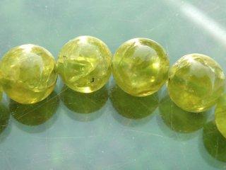 天然石 ペリドット 6mm ブレスレット per06002