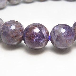 天然石 アイオライトサンストーン 10mm ブレスレット io10001sun