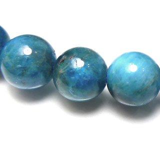 天然石 ブルーアパタイト 9mm ブレスレット apa09002b