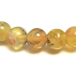 天然石 イエローオパール 6mm ブレスレット opa06001y