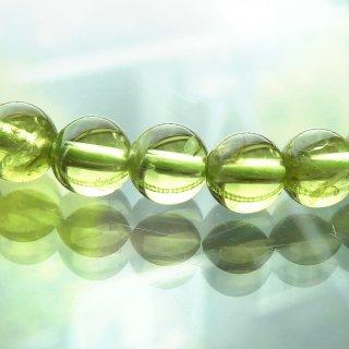 天然石 高品質ペリドット 5mm ブレスレット per05001