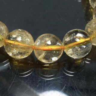 天然石 シトリン 10mm ブレスレット cit10003