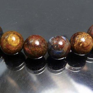 天然石 ピーターサイト 7.5mm ブレスレット pie07.5001