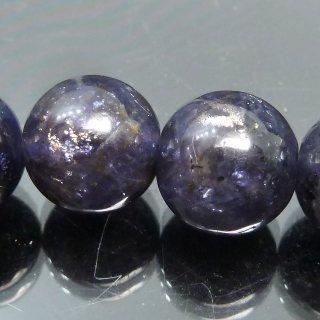 天然石 ディープアイオライト 10mm ブレスレット io10.5002d