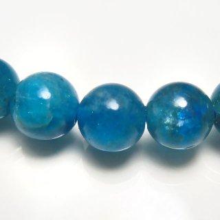 天然石 ブルーアパタイト 7-7.6mm ブレスレット apa07.5006pb