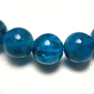天然石 ブルーアパタイト 7-7.7mm ブレスレット apa07.5007pb