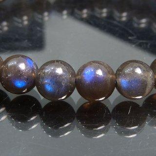 天然石 ブラックムーンストーン 6.5mm ブレスレット moo06.5001bk