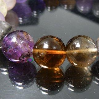 天然石 オーラライト23 11mm ブレスレット aur2311001