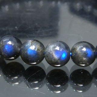 天然石 ブラックムーンストーン 6mm ブレスレット moo06001bk