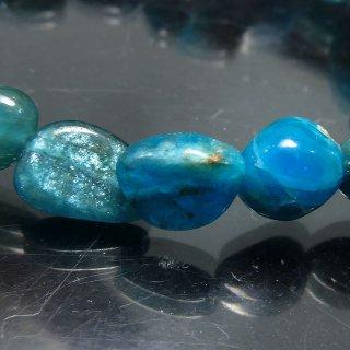天然石 アパタイト タンブル 9〜11mm ブレスレット apa10001t
