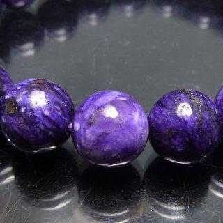 天然石 チャロアイト 10mm ブレスレット cha10004