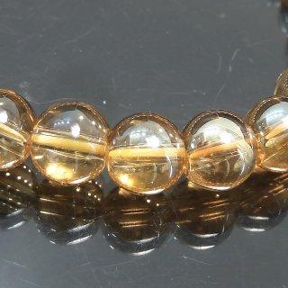 天然石 ゴールドオーラ 8mm ブレスレット aur08001g