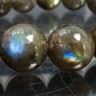天然石 ラブラドライト 12mm ブレスレット lab12001