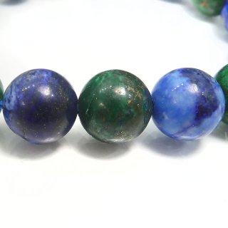 天然石 アズマラカイト 10.5mm ブレスレット azu10001