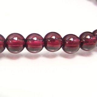 天然石 モザンビークガーネット 4mm ブレスレット gar04001m
