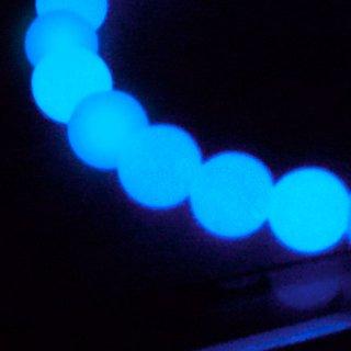 ルミナスストーン ブルー 6mm ブレスレット lum06001b