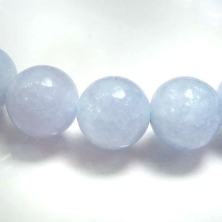 天然石 パステルアクアマリン 8mm ブレスレット aqu08003