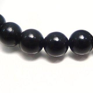 天然石 モリオン 黒水晶 6mm ブレスレット mor06001