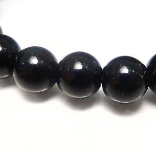 天然石 モリオン 黒水晶 8mm ブレスレット mor08001
