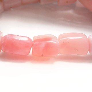 天然石 ピンクオパール タンブル ブレスレット opa09001pt