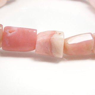 天然石 ピンクオパール タンブル ブレスレット opa09002pt