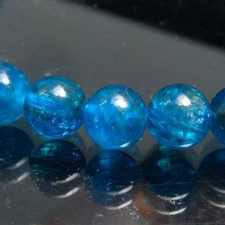 天然石 ネオンブルーアパタイト 6mm ブレスレット apa06001n
