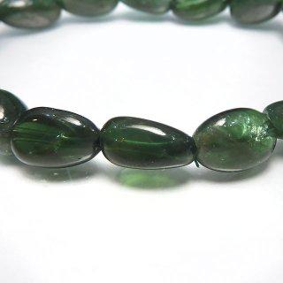 天然石 グリーンアパタイト タンブル 10〜12mm ブレスレット apa10001gt