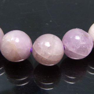 天然石 クンツァイト 7mm ブレスレット kun07001