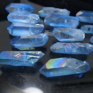 【1粒売り】水晶原石 ポイント オーロラブルー� M cry_pt_M_ob2