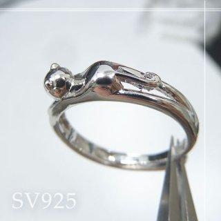 伸びるネコリング SV925 acc_ring_cat_02