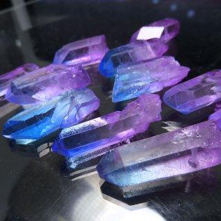 【1粒売り】水晶原石 ポイント オーロラブルーピンク� M cry_pt_M_obp2