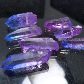 【1粒売り】水晶原石 ポイント オーロラブルーピンク� S cry_pt_S_obp2