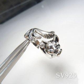 ネコに包まれるリング� SV925 acc_ring_cat_06