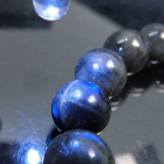 天然石 ブラックムーンストーン 10mm ブレスレット moo10002bk