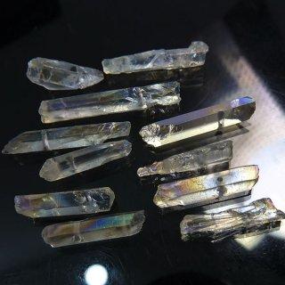 【1粒売り】水晶原石 ポイント オーロラ わけあり cry_pt_w_c