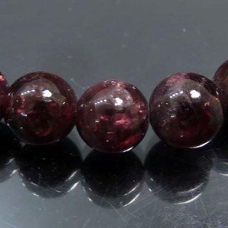 天然石 ガーネット 7.5mm ブレスレット gar07.5001