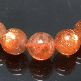 天然石 マイカサンストーン 7mm ブレスレット sun07005m