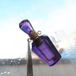 アメジスト 香水ボトル ペンダントトップ 38x15mm ame_top_puf_02