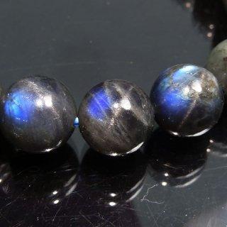 天然石 ブラックムーンストーン 10mm ブレスレット moo10003bk