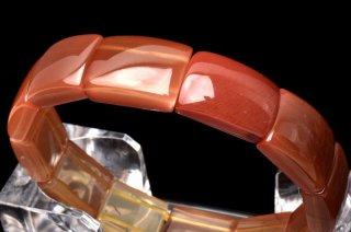 天然石 アンデシン 17x12mm ブレスレット and-17001b