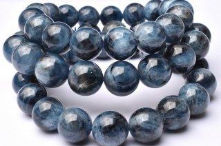 天然石 ブラックスターアクアマリン 8.5mm ブレスレット aqua-08.5001b