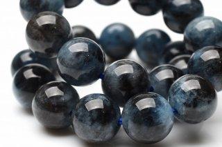 天然石 ブラックスターアクアマリン 8mm ブレスレット aqua-08001b